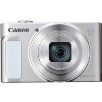 Canon PowerShot SX620 HS Superzoom Compact Camera - White, White
