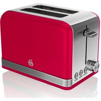 Buy SWAN ST19010RN 2-Slice Toaster - Red, Red - Currys