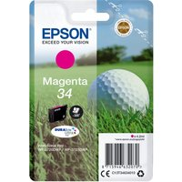 EPSON Golfball 34 Magenta Ink Cartridge, Magenta