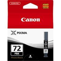 CANON PGI-72 Photo Black Ink Cartridge, Black