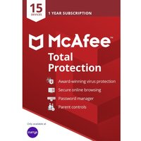 MCAFEE Total Protection 2019 - 1 year for 15 devices