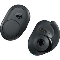 Push Wireless Bluetooth Earphones - Grey & Black, Grey