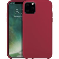 iPhone 11 Pro Max Silicone Case - Red, Red