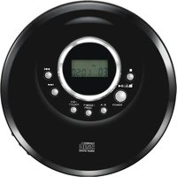 LOGIK L1PERCD20 Personal CD Player - Black, Black