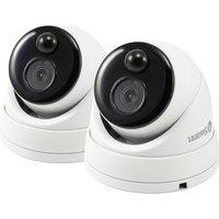 SWANN SWPRO-1080MSDPK2-EU Full HD 1080p Add-On Security Cameras - 2 Cameras.