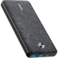 ANKER PowerCore Metro 20000 Portable Power Bank - Black & Grey, Black