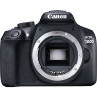 CANON EOS 1300D DSLR Camera - Black, Body Only, Black