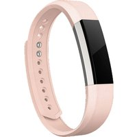 FITBIT Alta Leather Accessory Band - Blush Pink, Large, Pink
