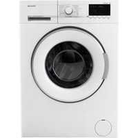 SHARP ES-GFB7123W3 Washing Machine - White, White
