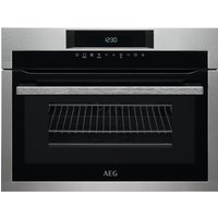 AEG KME761000M Built-in Combination Microwave - Stainless Steel, Stainless Steel