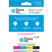 HP HP Instant Ink £15 Prepaid Card