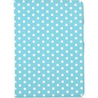 "GOJI 9.7"" iPad Folio Case - Blue & White, Blue"
