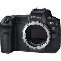CANON EOS R Mirrorless Camera - Black, Body Only