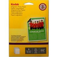 "KODAK 4 x 6"" Magnetic Photo Paper - 5 Sheets"