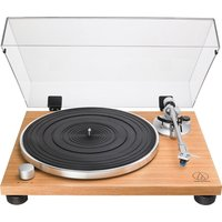 AT-LPW30 Belt Drive Turntable - Wood Teak, Transparent