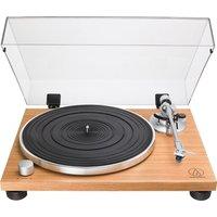 AUDIO TECHNICA AT-LPW30 Belt Drive Turntable - Wood Teak, Transparent