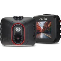 MIO MiVue C312 Full HD Dash Cam - Black, Black