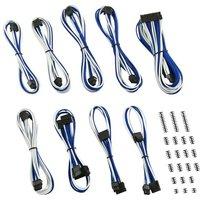 CABLEMOD Classic ModMesh RT-Series ASUS ROG/Seasonic Cable Kit - White & Blue, White
