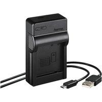 HAMA Travel 00081395 Panasonic DMW-BLG10 USB Battery Charger