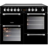 LEISURE Cookmaster CK100C210K Electric Ceramic Range Cooker - Black, Black