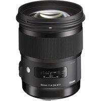 SIGMA 50 mm f/1.4 DG HSM A Standard Prime Lens - for Canon