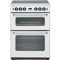 NEW WLD 600TSIDOM Gas Cooker - White, White