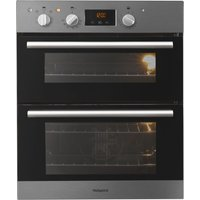 HOTPOINT Class 2 DU2 540 IX Electric Built-under Double Oven - Stainless Steel, Stainless Steel