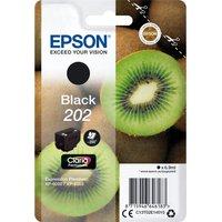 EPSON 202 Kiwi Black Ink Cartridge, Black