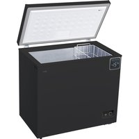 LOGIK L200CFB18 Chest Freezer - Black, Black