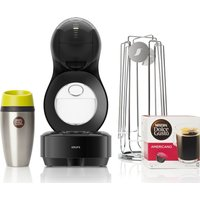 Dolce Gusto By Krups Lumio Kp138bun Coffee Machine Travel Kit - Black, Black