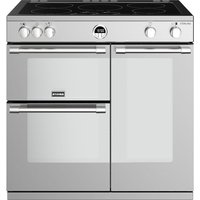 STOVES Sterling S900Ei 90 cm Electric Induction Range Cooker - Stainless Steel, Stainless Steel