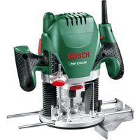 BOSCH POF 1200 AE Plunge Router - Black and Green, Black