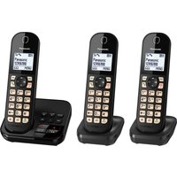 Click to view product details and reviews for Panasonic Kx Tgc463eb Cordless Phone Triple Handsets.