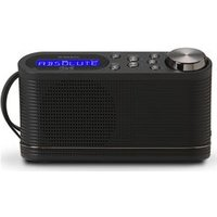 'Roberts Play10 Portable Dab+/fm Radio - Black