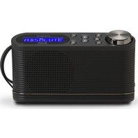ROBERTS PLAY10 Portable DAB Radio - Black, Black