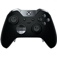 MICROSOFT Xbox Elite Wireless Controller - Black, Black