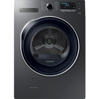 SAMSUNG DV90M5000QW/EU 9 kg Heat Pump Tumble Dryer - Graphite, Graphite