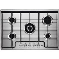 AEG HG745451SM Gas Hob - Stainless Steel, Stainless Steel