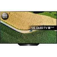 "65"" LG OLED65B9PLA  Smart 4K Ultra HD HDR OLED TV with Google Assistant, Black"