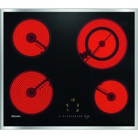 MIELE KM6520 Electric Ceramic Hob - Black, Black