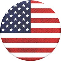 POPSOCKETS Swappable PopTop 801846 Phone Grip - American Flag