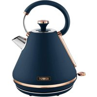 TOWER Cavaletto T10044MNB Traditional Kettle - Midnight Blue, Blue