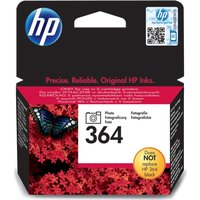 HP 364 Black Photo Ink Cartridge, Black