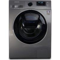 SAMSUNG AddWash™ WW90K5410UX/EU Washing Machine - Graphite, Graphite