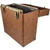 GPO 12 Vinyl Case - Brown, Brown