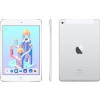 APPLE iPad mini 4 Cellular - 128 GB, Silver, Silver