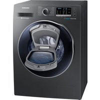 Samsung Ecobubble Wd80k5b10ox 8 Kg Washer Dryer - Graphite, Graphite