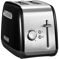 Buy KITCHENAID 5KMT221BOB 2-Slice Toaster - Black, Black - Currys PC World