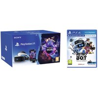 SONY PlayStation VR Starter Pack & Astro Bot Rescue Mission Bundle, White
