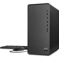HP M01-F0027na Desktop PC - AMD Ryzen 5, 1 TB HDD and 256 GB SSD, Black, Black